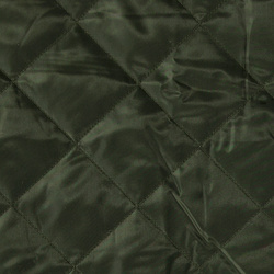 Woven quilt army green with lining