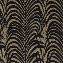 Jacquard sand with black leaf pattern