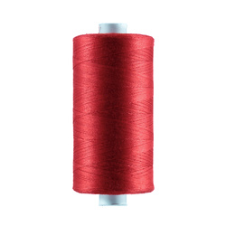 Sewing thread cotton red 1000m