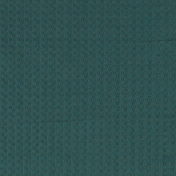 Woven jacquard petrol green w structure