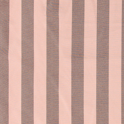 Woven yarn dyed rose/hazel brown stripes