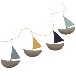Bunting with boats