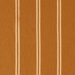 Woven yarn dyed golden brown stripe
