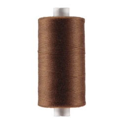 Sewing thread nougat brown 1000m