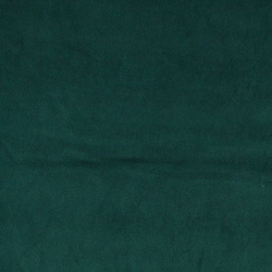 Stretch velvet dark bottle green
