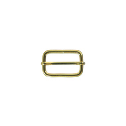 Buckle adjustable 32x20mm gold 1pc