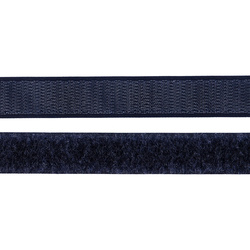 Hook and Loop tape 20mm navy 50cm