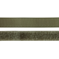 Hook and Loop tape 20mm army 50cm
