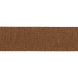 Ribbon woven 38mm brown 4m
