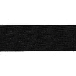 Elastic 25mm black 5m