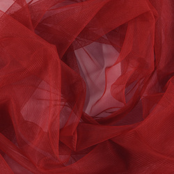 Soft tulle red