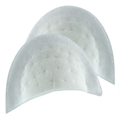 Shoulderpads white universal