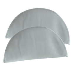 Shoulderpad 85mm narrow soft white