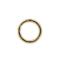 Snap hook 35/25mm gold 1 pc