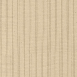Yarn dyed offwhite/sand striped