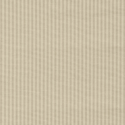 Yarn dyed offwhite/sand narrow stripe