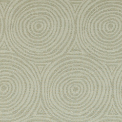 Jacquard nature w gold circle pattern