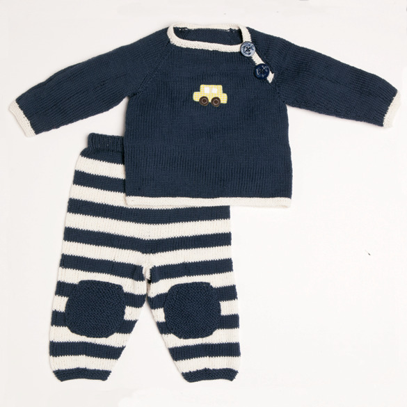 Staying in baby set