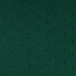 Jacquard green with dots