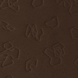 Trevira CS upholstery brown quilt effect