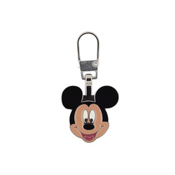 Zipper-pendant MICKEY MOUSE 20x20mm 1pc