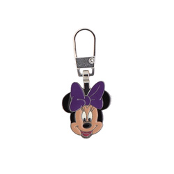Zipper-pendant MINNIE MOUSE 20X17mm 1pc