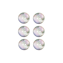 Button mother of pearl 15mm 6 pcs