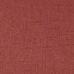 Coarse linen/viscose rouge