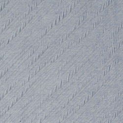 Quilt dusty blue w diagonal stripes