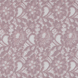Solid lace dusty rose