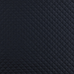 Twill quilted navy with lining