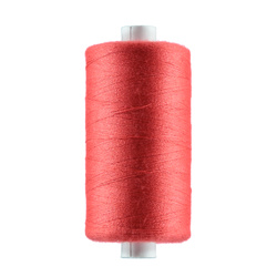 Sewing thread bright coral 1000m
