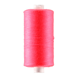 Sewing thread neon pink 1000m