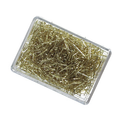 Pins 15mm x 0.65mm in box gold 50g