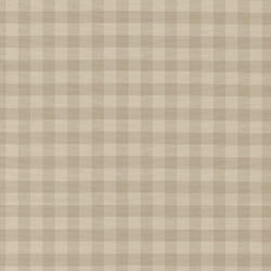 Yarn dyed offwhite/sand big check