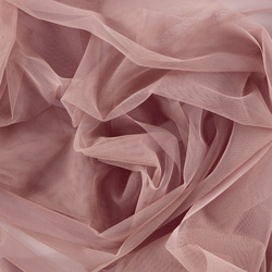 Soft tulle antique rose