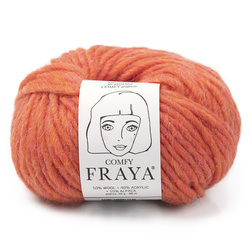 Knitting yarn Comfy coral