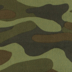 Polar fleece med camouflage