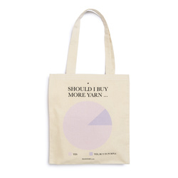 "FRAYA Shopper 35x39cm ""Should I Buy…"""