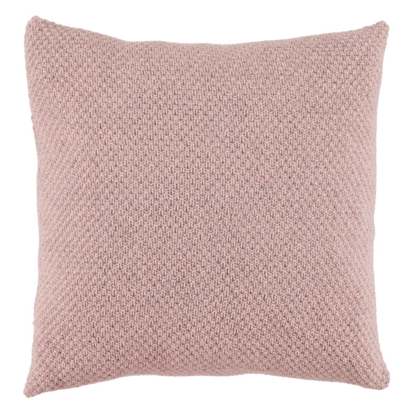 Knit purl repeat pillow case