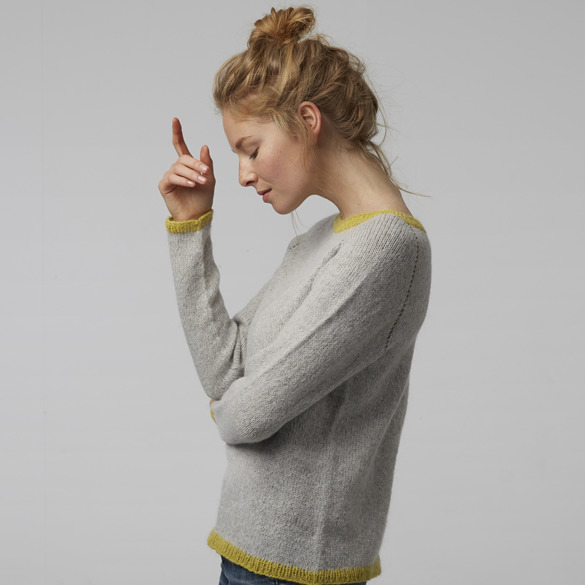 Out and about sweater