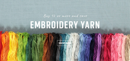 Embroidery yarn discount