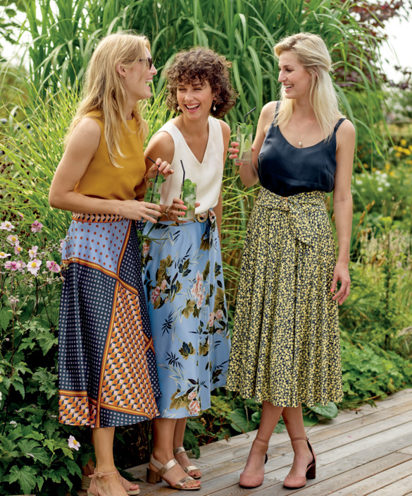 Cool outfits for garden parties