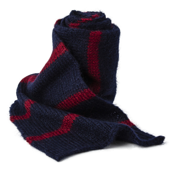 Plain sailing stripes scarf