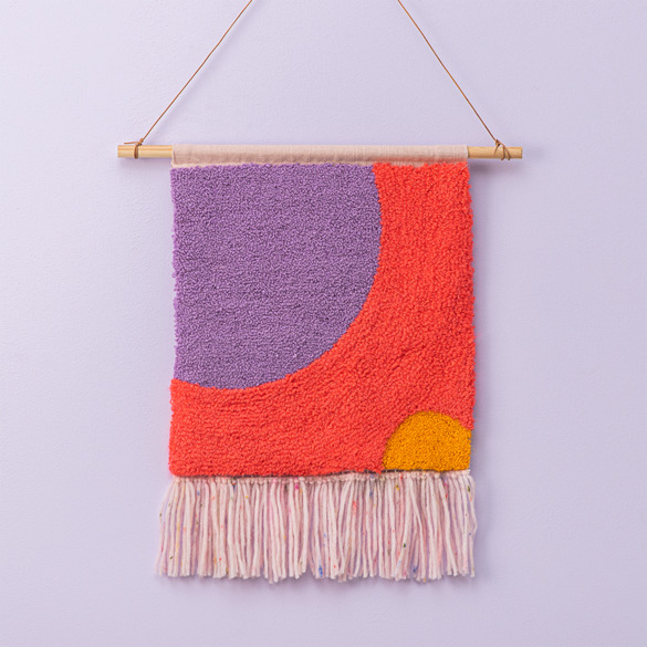 Punch needle Wall Hanger - FRAYA
