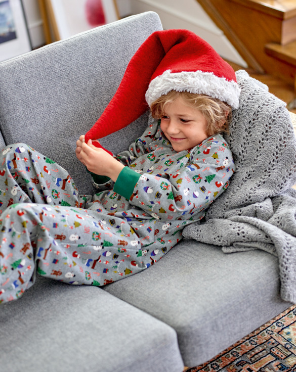 Cosy Christmas one-piece suits