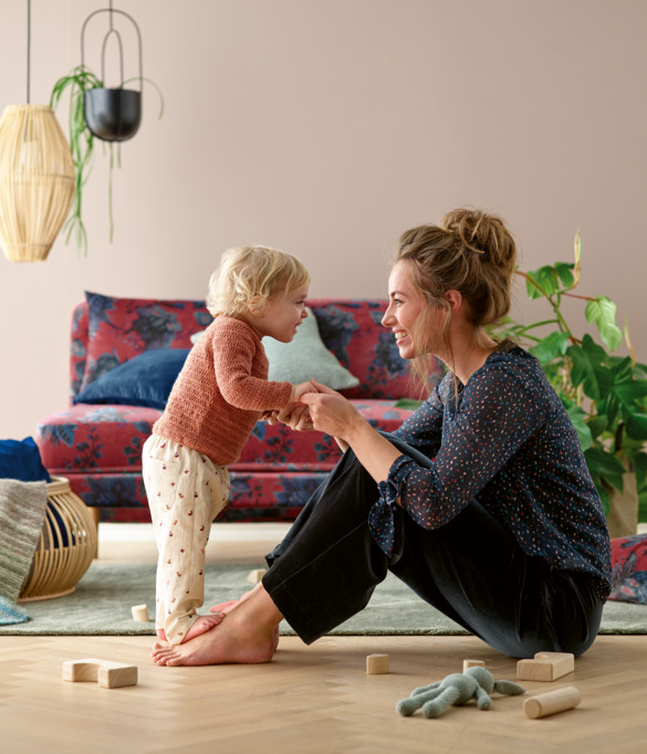 Soft essentials for mom and baby