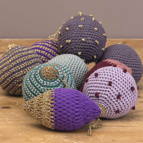 Softhearted christmas baubles
