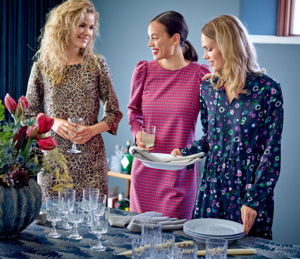 Trendy prints for the party dresses