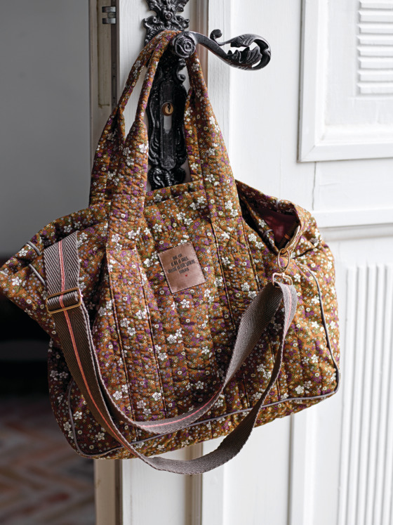 Unique expression with a quilted bag